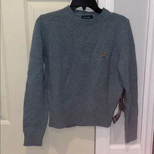 Lauren, Ralph Lauren New 100% Lambswool Sweater S